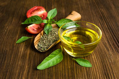Ingredients for Italian food Stock Images