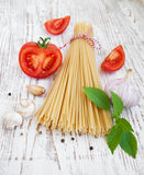 Ingredients for an Italian meal Royalty Free Stock Photography