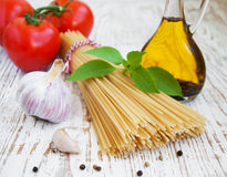 Ingredients for an Italian meal Royalty Free Stock Image