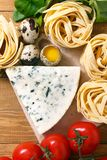 Ingredients for an Italian pasta recipe Stock Photography