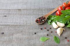 Ingredients for Italian pasta Stock Photo