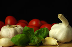 Ingredients for italien pasta Royalty Free Stock Image