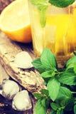 Ingredients for lemonade Royalty Free Stock Photos