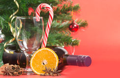Ingredients for making mulled wine Stock Photography