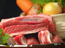 Ingredients for meat broth Royalty Free Stock Photography