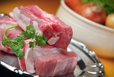 Ingredients for meat broth Stock Photo