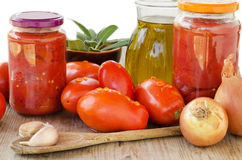 Ingredients of mediterranean diet Royalty Free Stock Photo
