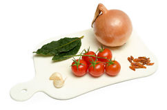 Ingredients of mediterranean diet Royalty Free Stock Photography