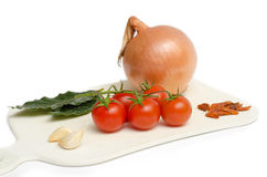 Ingredients of mediterranean diet Stock Image