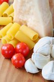 Ingredients for pasta Royalty Free Stock Photos