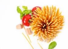 Ingredients for pasta Stock Photo