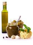 Ingredients - pesto Stock Images