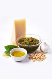 Ingredients for pesto Stock Photography