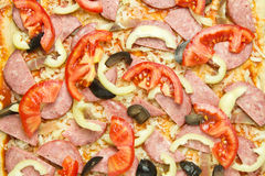 Ingredients for pizza Royalty Free Stock Photo