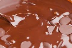 Ingredients for preparation of artisanal chocolate bar Royalty Free Stock Photo