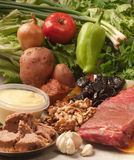 Ingredients for roast meat stock photography