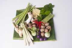 Ingredients soup Stock Photography
