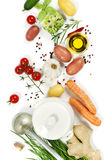 Ingredients for soup Royalty Free Stock Image