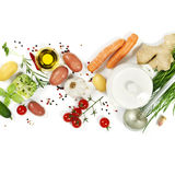 Ingredients for soup Stock Photos