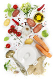 Ingredients for soup Stock Images
