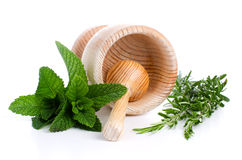 Ingredients and spice for food Royalty Free Stock Photography