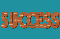 Ingredients of success Royalty Free Stock Photography