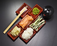 Ingredients for sush Stock Photography