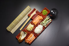 Ingredients for sush Stock Images