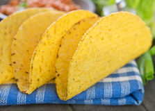 Ingredients for taco Stock Photos