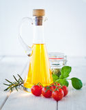 Ingredients For Tagliatelle Stock Photo