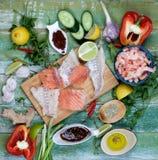 Ingredients of Thai Fish Cakes Royalty Free Stock Photo