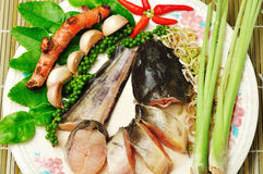 Ingredients for Thai Food Stock Photography