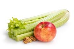 Ingredients for waldorf salad Stock Image