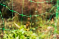 Ingrepp i trädgården Fotoet är ut ur fokus arkivbild