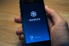 Ingres rozwijał Niantic Labs Zdjęcia Royalty Free