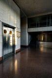 Ingresso dell'acciaio inossidabile con la designazione di Deco e di Art Moderne Immagini Stock