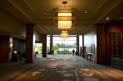 Ingresso dell'albergo di lusso Fotografie Stock Libere da Diritti