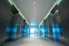 Ingresso dell'ascensore dell'ufficio Immagini Stock