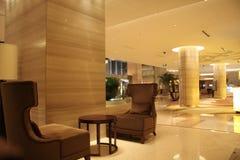 Ingresso dell'hotel Fotografia Stock