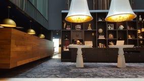 Ingresso dell'hotel a Amsterdam Fotografia Stock