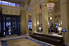 Ingresso dell'hotel Monaco Seattle Immagini Stock Libere da Diritti