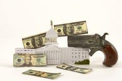 Ingresso della pistola Fotografie Stock