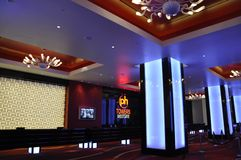 Ingresso delle torrette di Hollywood del pianeta - Las Vegas, S.U.A. Fotografia Stock Libera da Diritti