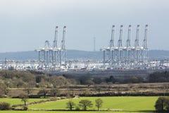 Ingresso di Londra: Il nuovo porto Immagini Stock