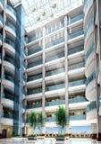 ingresso moderno dell'edificio per uffici 3d Immagine Stock