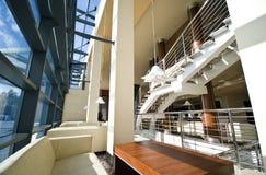 Ingresso moderno dell'hotel Immagini Stock