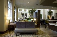 Ingresso moderno dell'hotel Immagine Stock Libera da Diritti