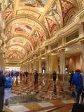 Ingresso veneziano dell'hotel del casinò a Las Vegas Fotografia Stock