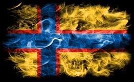 Ingrian smoke flag, Finland dependent territory flag.  Royalty Free Stock Image
