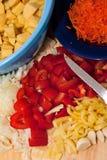 Ingridients del cocido húngaro Imagen de archivo libre de regalías